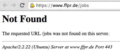 relaunch 404 fehler